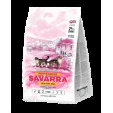 SAVARRA (Саварра) для взрослых кошек с чувствительным пищеварением с ягненком и рисом