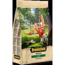 BROOKSFIELD (Бруксфилд) Для щенков Говядина/рис