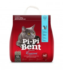 Pi-Pi-Bent (Пи Пи Бент) Classic Комкующийся Наполнитель 5кг