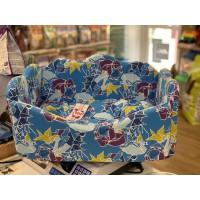Лежанка 'Канапе' оригами лазурная #1 750634