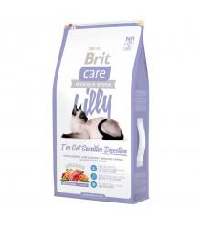 Корм для кошек Brit Care Cat Lilly Sensitive Digestion беззерновой, при чувствительном пищеварении