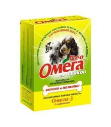 Омега Neo Лакомство витаминизированное для щенков, с L-карнитином