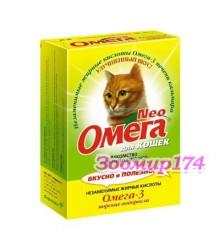 Омега Neo Лакомство витаминизированное для кошек с морскими водорослями