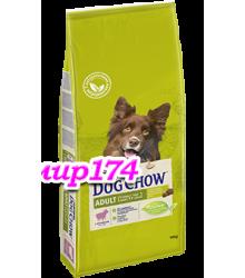 Dog Chow (Дог чао) Adult для взрослых собак всех пород с ягненоком и рисом