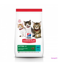 Hill's Science Plan Healthy Development корм для котят до 12 месяцев с тунцом.