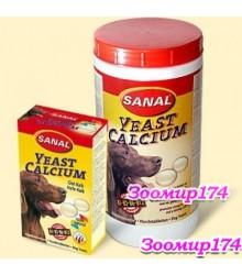 Sanal Витамины для Собак Дрожжи и Кальций 100гр