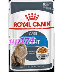 Royal Canin (Роял Канин) Ultra Light  Влажный корм для кошек, склонных к полноте 85гр (пауч)