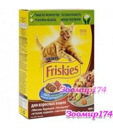 Friskies (Фрискис) С мясом и овощами для кошек