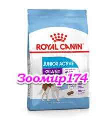 Royal Canin (Роял канин) Giant Junior Active Корм для щенков с высокими энергетическими потребностями с 8 до 18/24 месяцев