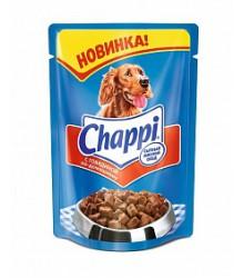 Чаппи (Chappi) Говядина по домашнему для собак пауч 100г