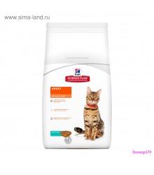 Hill's Science Plan Optimal Care корм для кошек от 1 до 6 лет с тунцом.