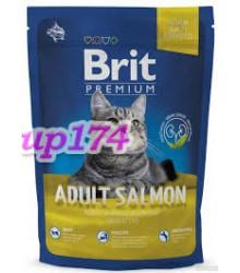 Brit Premium Cat Adult Salmon с/корм для взрослых кошек (лосось)