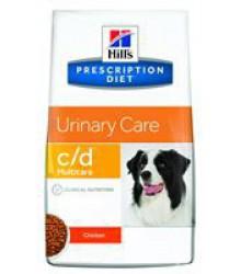 Hill's Prescription Diet c/d  Urinary Care корм для собак диета для поддержания здоровья мочевыводящих путей курица.