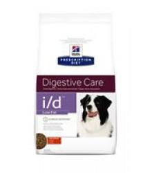 Hill's Prescription Diet i/d Low Fat Digestive Care корм для собак диета для поддержания здоровья ЖКТ и поджелудочной железы с курицей.