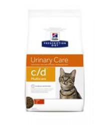 Hill's Prescription Diet c/d Multicare Urinary Care корм для кошек диета для поддержания здоровья мочевыводящих путей курица.
