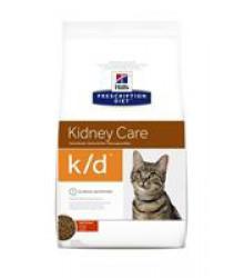 Hill's Prescription Diet k/d Kidney Care корм для кошек диета для поддержания здоровья почек с курицей.