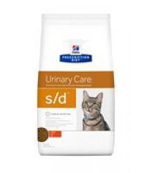 Hill's Prescription Diet s/d Urinary Care корм для кошек диета для поддержания здоровья мочевыводящих путей курица.