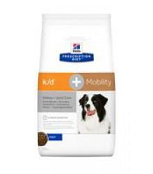 Hill's Prescription Diet k/d + Mobility Kidney+Joint Care корм для собак диета для поддержания здоровья почек и суставов одновременно 12 кг