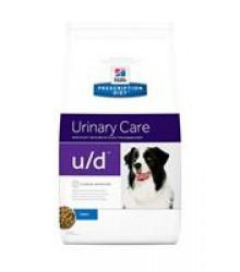 Hill's Prescription Diet u/d Urinary Care корм для собак диета для поддержания здоровья почек и мочевыводящих путей оринальный.