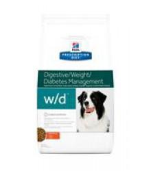 Hill's Prescription Diet w/d Digestive/Weight Management  корм для собак диета для поддержания оптимального веса и здоровья при сахарном диабете с курицей