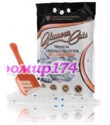 Glamour Cats антибактериальный силикагелевый наполнитель для кошачьих туалетов 3,8 литра