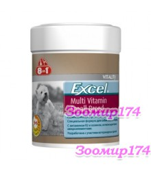 8in1 Excel Multi-Vitamin Small Мультивитамины для Собак Мелких Пород 70таб.