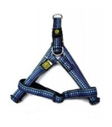 Шлейка нейлон MAX & MOLLY 106017 Узор этнический синий XS 24-39х32-40см