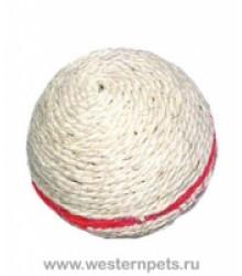 Игрушка Мяч с мятой сизалевая D9.5см 363077