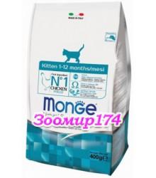 Monge Cat корм для котят, с курицей и рисом