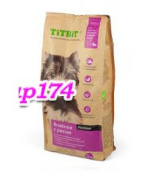 TITBIT корм сухой для щенков мелких и средних пород ягненок с рисом