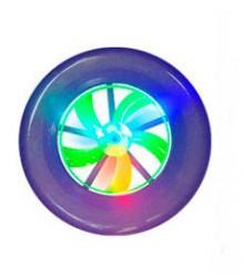 Игрушка фризби светящийся 23см 361246