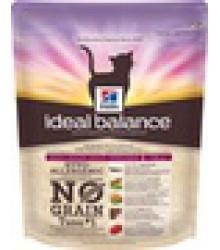 Hill's Ideal Balance No Grain натуральный беззерновой сухой корм для кошек с тунцом и картофелем.