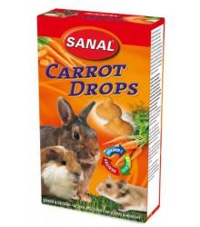 САНАЛ для грызунов дропсы Морковные 45гр