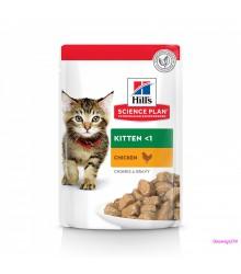Hill's Science Plan Healthy Development пауч для котят до 12 месяцев курица