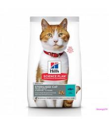 Hill's Science Plan Sterilised Cat корм для молодых кошек от 6 месяцев до 6 лет с тунцом.