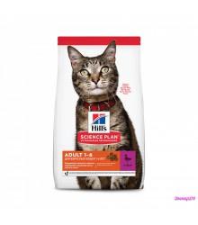 Hill's Science Plan Optimal Care корм для кошек от 1 до 6 лет с уткой.