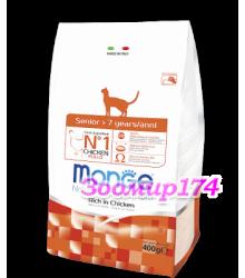 Monge Cat корм для пожилых кошек 7+, курица и рис 1,5кг