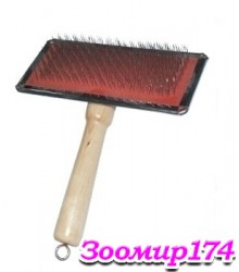 Ческа с деревянной ручкой ZМ1034