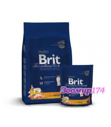 Brit Premium Cat Adult Chicken с/корм для взрослых кошек (Курица)