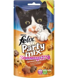 Felix (Феликс) Party Mix Лакомство для Кошек Оригинальный Микс