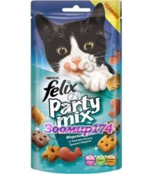 Felix (Феликс) Party Mix Лакомство для Кошек Морской Микс