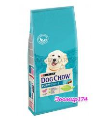 Dog Chow (Дог чао) Puppy Для щенков всех пород с ягненком и рисом