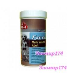 8in1 Excel Multi-Vitamin Adult Мульти витамины для Взрослых Собак 70таб.