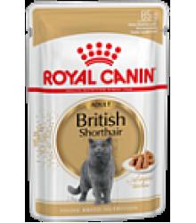 Royal Canin (Роял Канин)  British Shorthair Adult  Влажный корм для британских короткошерстных кошек старше 12 месяцев пауч 85гр