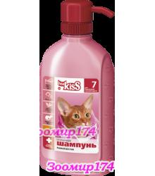Ms.Kiss Рыжая бестия Шампунь-кондиционер для персиковых и рыжих окрасов кошек 200мл