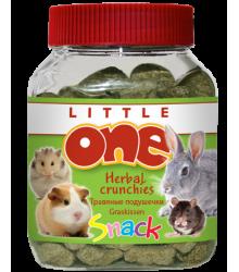 Little One лакомство для грызунов Травяные подушечки