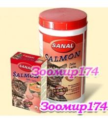 Sanal Витамины с Лососем для Кошек.