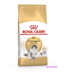 Royal Canin (Роял Канин)  Norwegian Forest Cat Adult Корм для кошек породы Норвежская лесная старше 12 месяцев