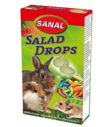 САНАЛ для грызунов дропсы Салат 45гр