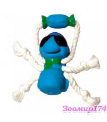 Игрушка виниловая c веревками Муха (360115)